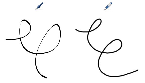 Psani Nebo Kresleni Digitalnim Inkoustem Pomoci Nastroje